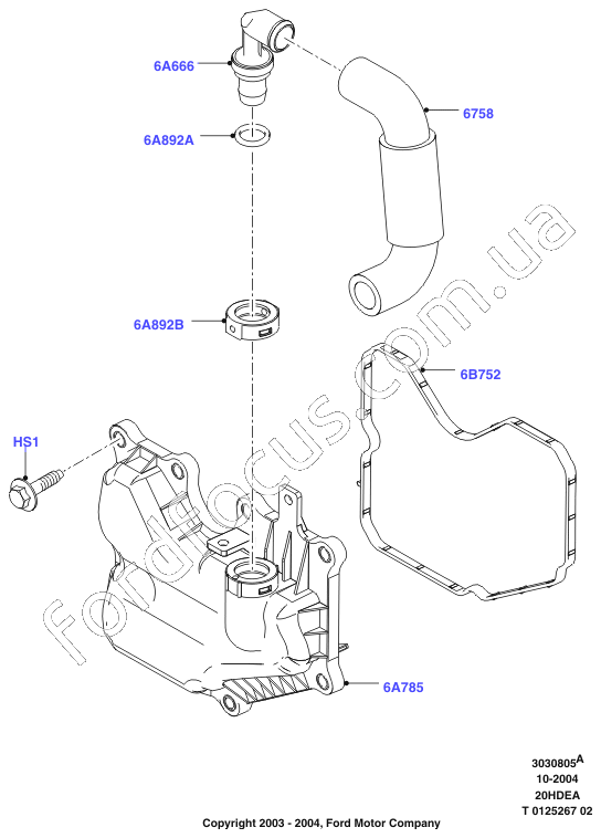 ford transit connect parts catalog