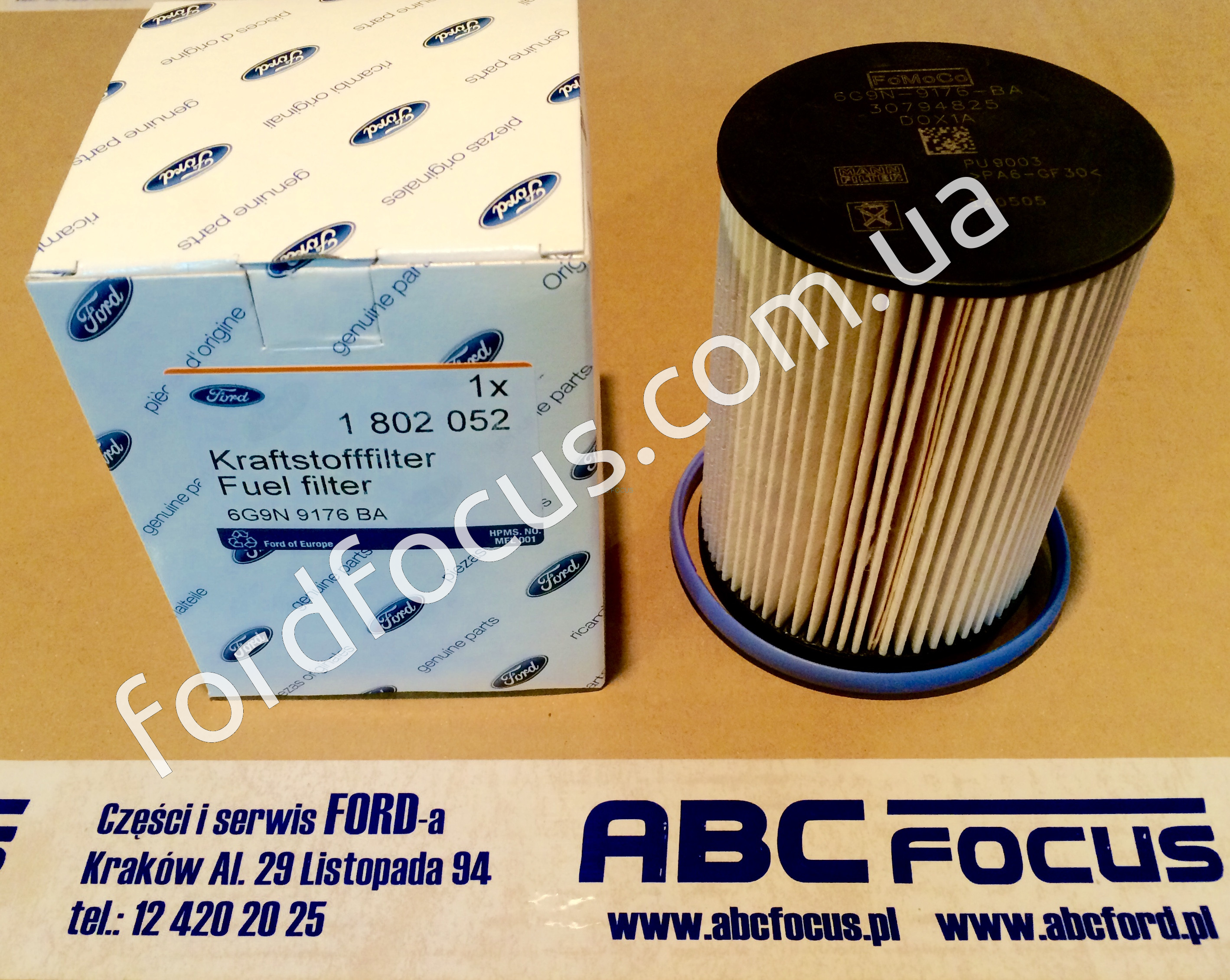1802052 Filter Fuel Ford Mondeo Focus