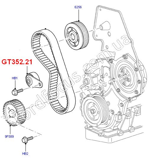 1479084. ролик ремня ГРМ (1479084) для Ford Transit