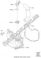 1430644  branch pipe ventilation crankcase gases  u0434 u043b u044f ford