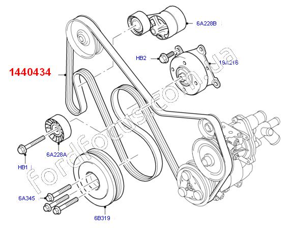 12 Ford Transit 2 2tdci 260s Swb: 7PK2842. ремень генератора 2.4-3.2TDCI (+КДЦ) DAYCO